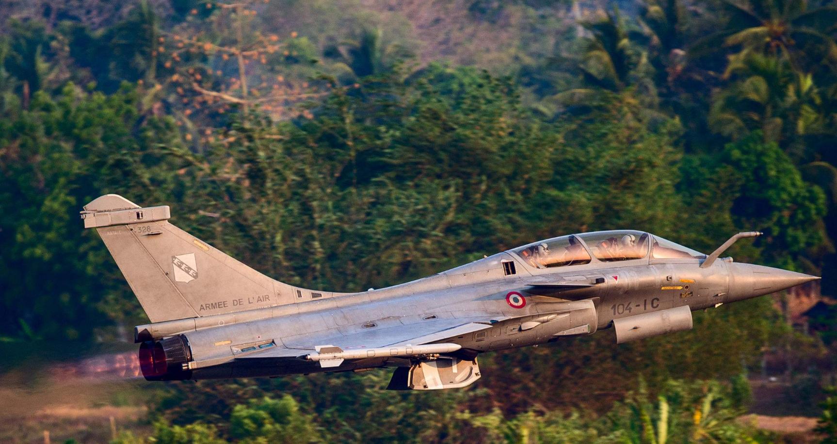 法国出售给印度的阵风战斗机