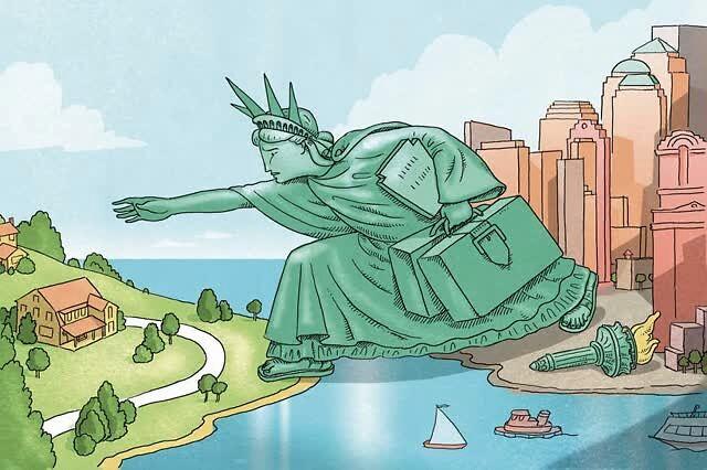 加速逃離紐約:美國最大城市失去她往日的吸引力