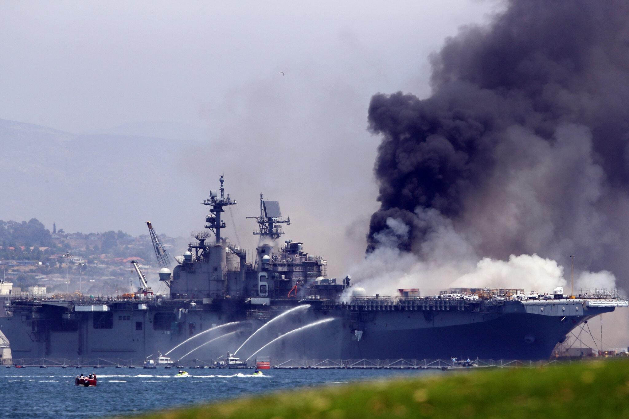 【刷百度相关搜索】_美海军怀疑好人理查德号遭人为纵火,一名水兵正接受调查