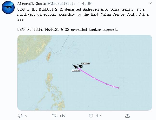 【刷关键字排名】_美军轰炸机被曝从关岛起飞 绿媒炒作:朝着台湾方向飞来