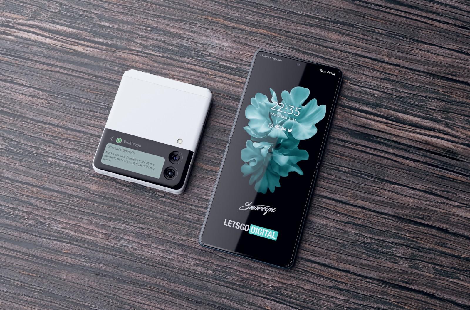 消息称三星Galaxy Z Fold3和Z Flip3将于8月27日发售插图(1)