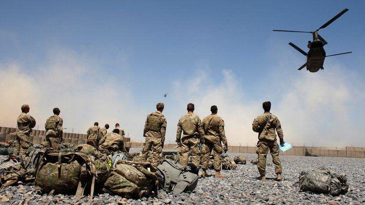 在阿富汗美军 资料图