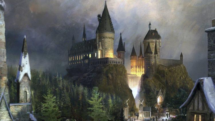 霍格沃茨魔法学校 是90后梦想中学校的样子