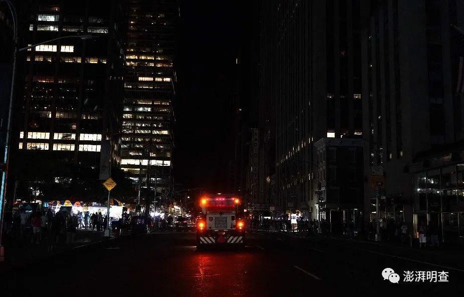 当地时间2019年7月13日,美国纽约曼哈顿遭遇大规模停电。