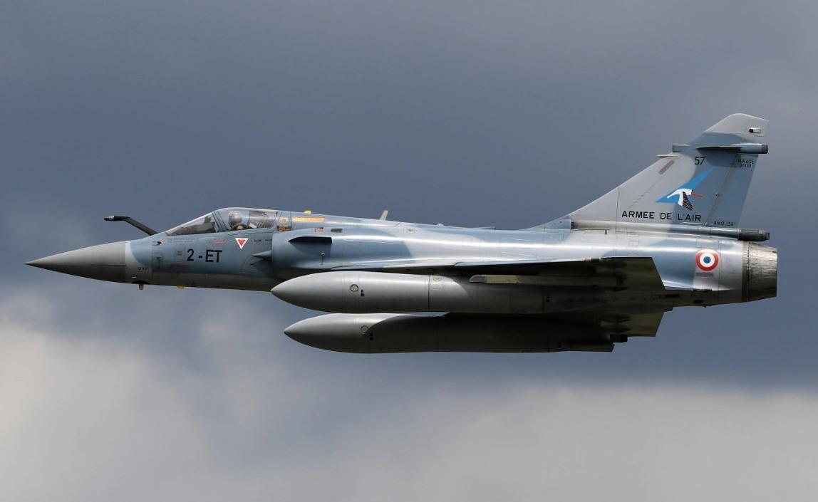 法国空军的幻影2000战斗机