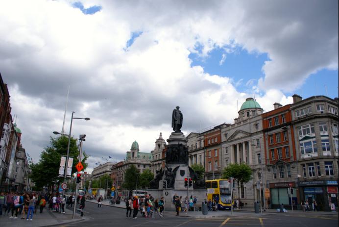 爱尔兰首都都柏林