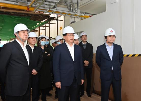 依托华为建设,武汉人工智能计算中心6月底投入运营