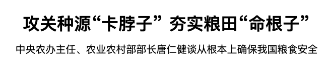 【央行系统升级】_中央部署重要任务后,农业这场翻身仗要加快布局