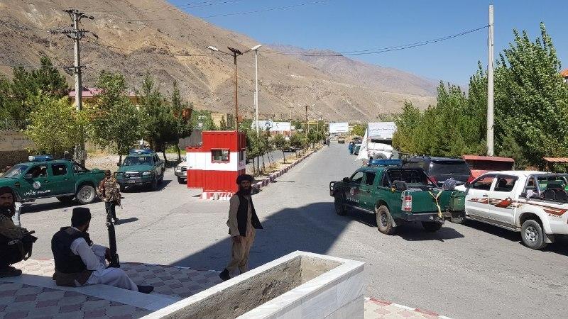 当地时间2021年9月6日,阿富汗潘杰希尔省。  人民视觉 图