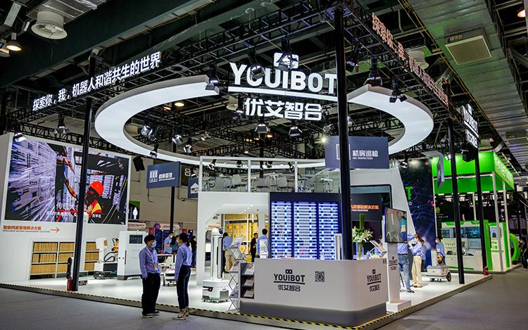 优艾智合亮相人工智能大会 助力企业打造智慧生产场域