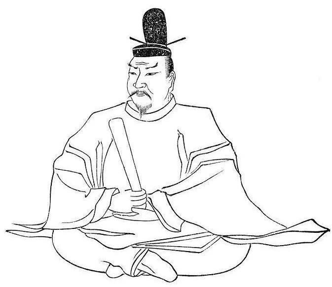 上图_ 天武天皇,名为大海人,约生于631年(舒明天皇3年)