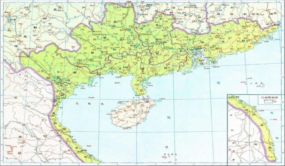 ▲越南中北部曾是中国的辖地