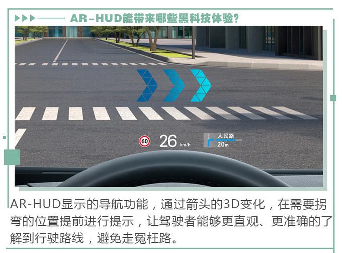 AR实景导航加上HUD会有哪些黑科技体验-图10