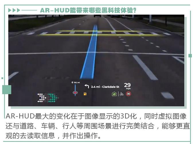 AR实景导航加上HUD会有哪些黑科技体验-图9