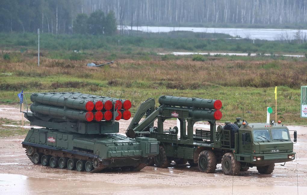 """俄军最新一代""""山毛榉""""Buk-M3防空系统 资料图"""