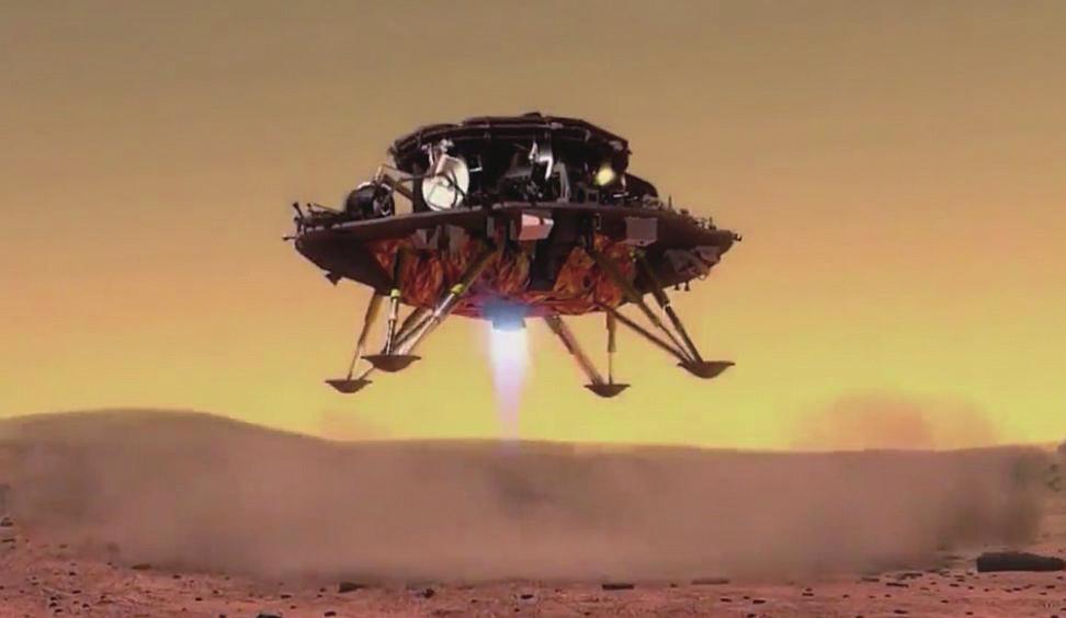 万博体育:中美火星探测,技术选择不同 航天专家:天问一号采用传统着陆方式不代表落后