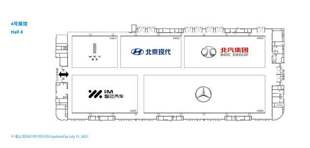 成都国际车展展位图发布 130余家车企参展