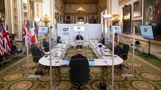 """中国成G7""""影子主角"""" 美国""""共同战线""""能建起来吗?_凤凰网"""