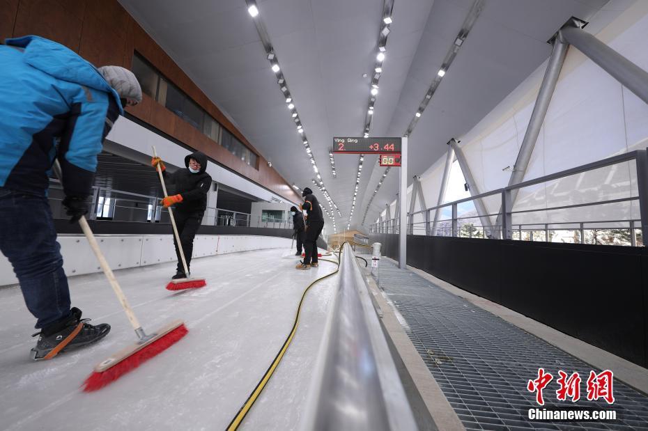 国家雪车雪橇中心将作为雪车、雪橇比赛场地。中新社记者 蒋启明 摄