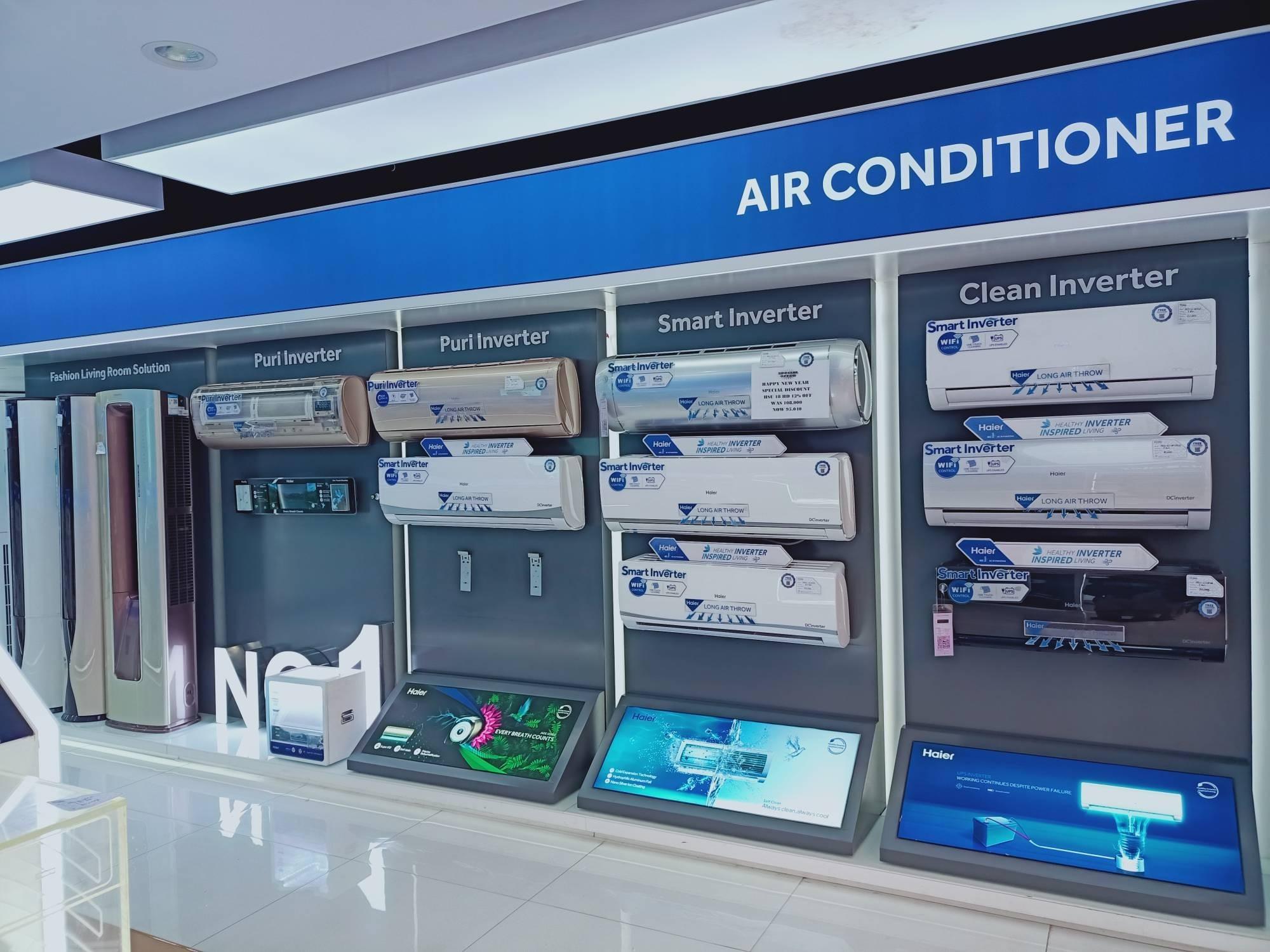 在巴基斯坦:海尔空调连续15年市场第一