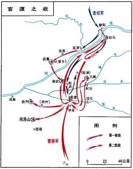 """上图_ 官渡之战,是东汉末年""""三大战役""""之一"""