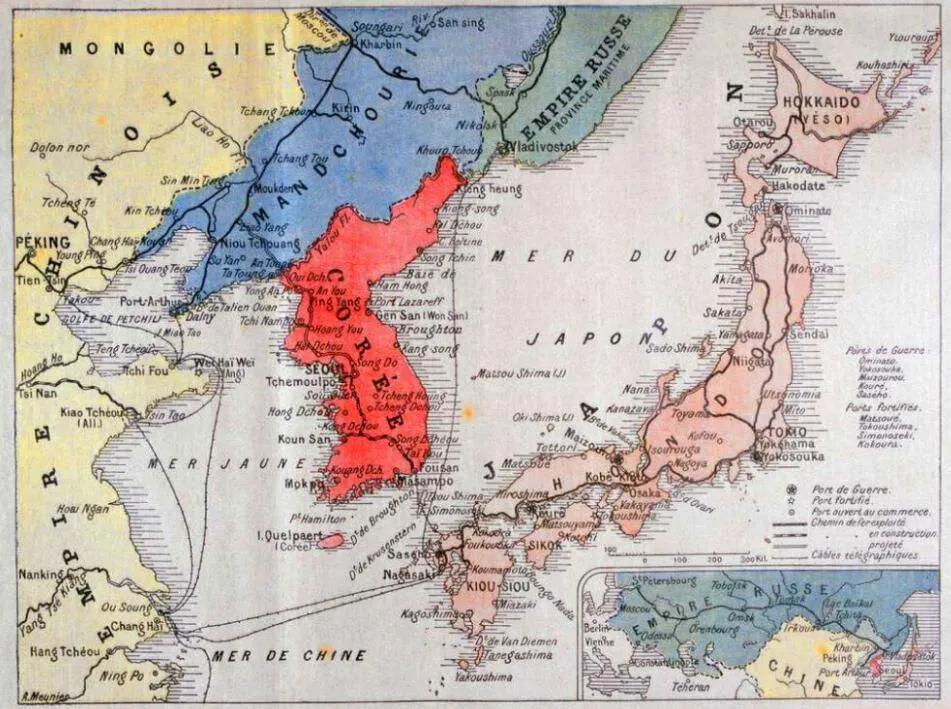 上图_ 日俄战争地图