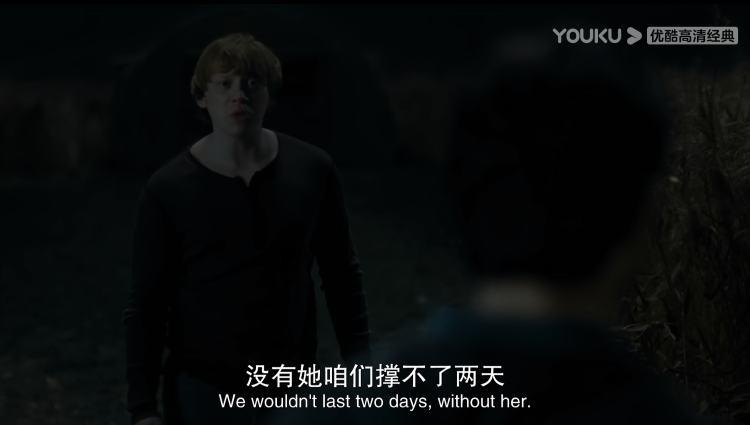 《哈利·波特与死亡圣器1》电影截图