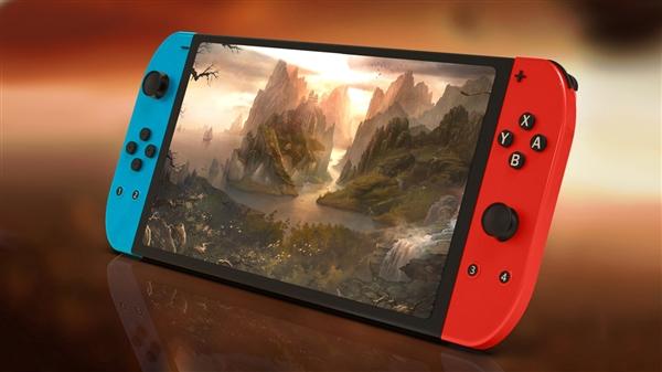 """厂商提前""""官宣""""任天堂Switch Pro游戏机:首次配备OLED显示屏"""