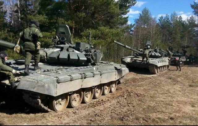 图为T72主战坦克