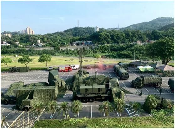 """""""爱国者""""导弹车组。图为示意,非报道中雷达车组。图自联合新闻网"""