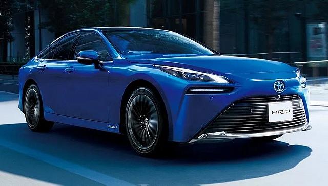 日本丰田汽车公司旗下氢燃料电池车MIRAI