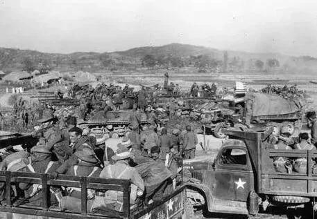 上图_ 朝鲜战争中的新西兰部队
