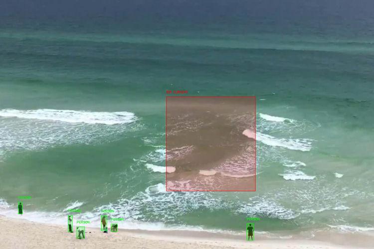 人工智能驱动的离岸流检测系统将帮助人们免于溺水死亡