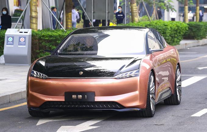 恒大旗舰轿车投产时间曝光 比Model S更大更豪华-图1