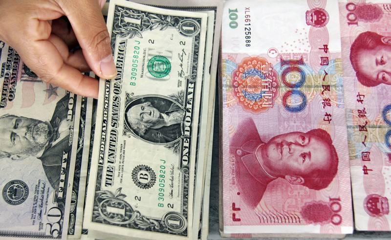 中国减持美债