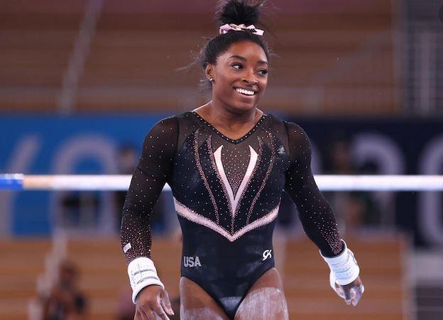 美国女子体操名将西蒙·拜尔斯