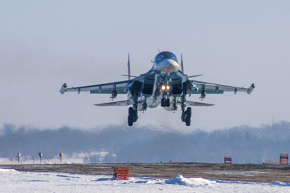 俄军苏-34战斗轰炸机 资料图