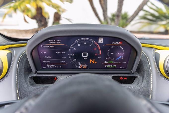 迈凯伦720S敞篷版实拍 搭4.0T引擎/翻转式液晶仪表-图8