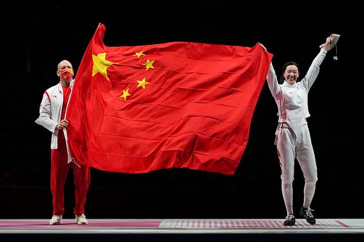 东京奥运会首日 中国代表团斩获3金1铜领跑金牌榜