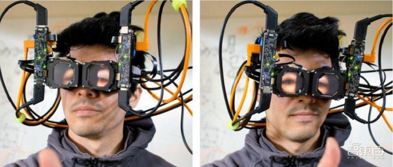 "Facebook发布VR头显新样机 可进行眼神""交流"""