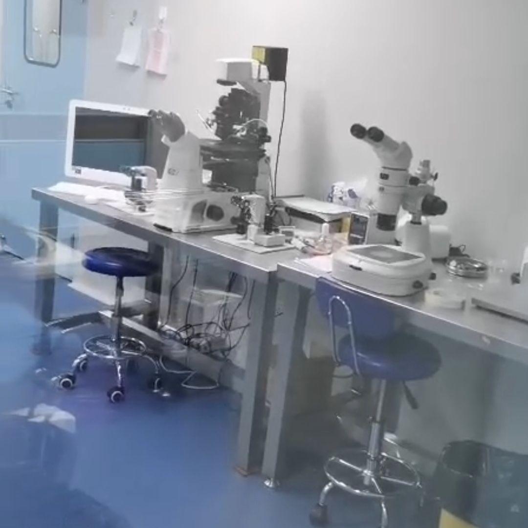 一家地下辅助生殖机构提供的地下手术实验室内景。视频截图