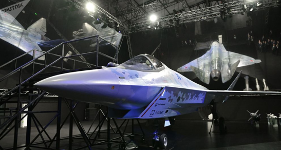 """俄罗斯公开第二款隐身战斗机,命名为""""将死""""(Checkmate)。"""
