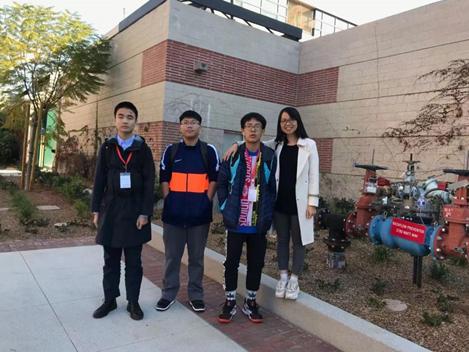 广州为明学校国际部学生东方源走在追梦路上