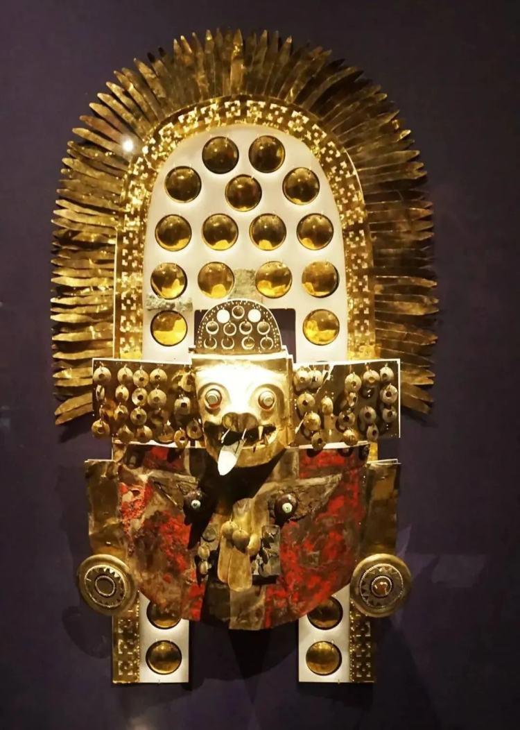 黄金面具 西坎文化