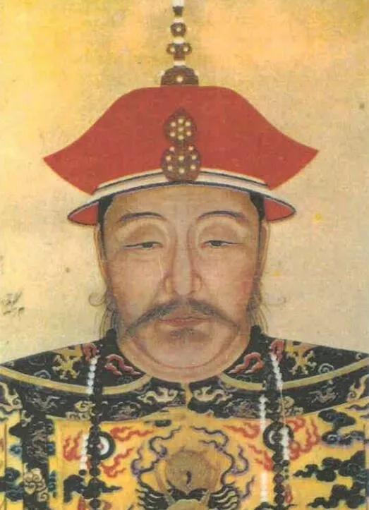 上图_ 努尔哈赤半身朝服像