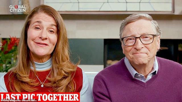 ↑比尔·盖茨和梅琳达·盖茨最后一次共同公开露面 图据《每日邮报》