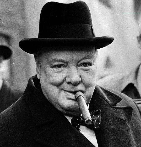 爱抽雪茄的丘吉尔