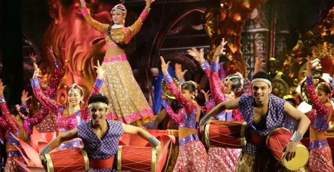 孟买的宝莱坞主题公园内的剧场