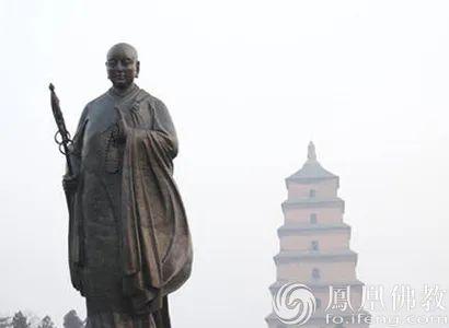 玄奘法师(图片来源:凤凰网佛教)