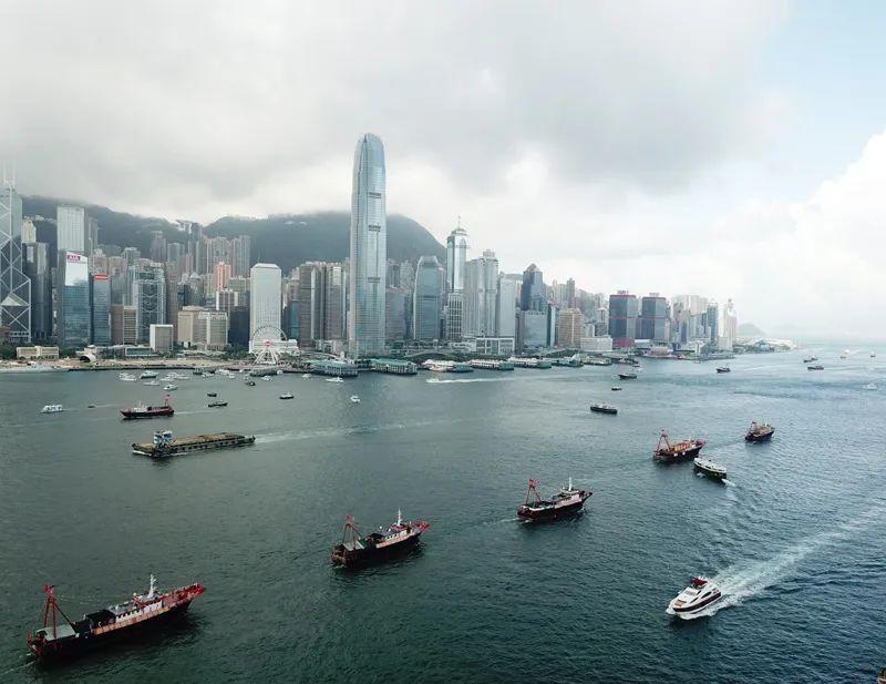 """""""这样的场景 在香港国安法实施前是难以想象的"""""""